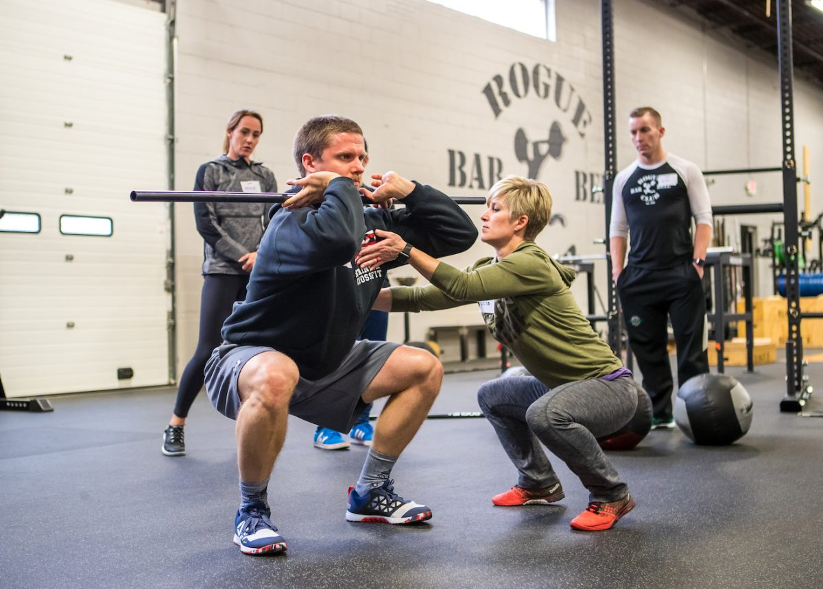 become crossfit coach